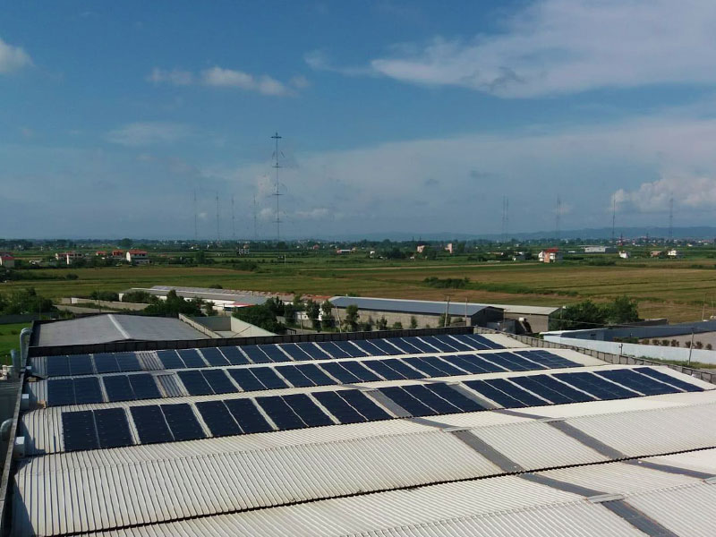 101 KWp PV-system | Albania